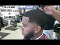 Barber to tutorial: How to cut 360 waves Taper fade/ w BEARD  FULL TUTORIAL HD
