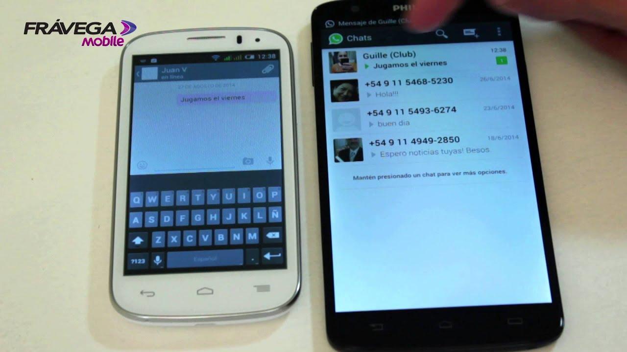 fravega mobile fierita te explica como usar whatsapp con celulares dual chip