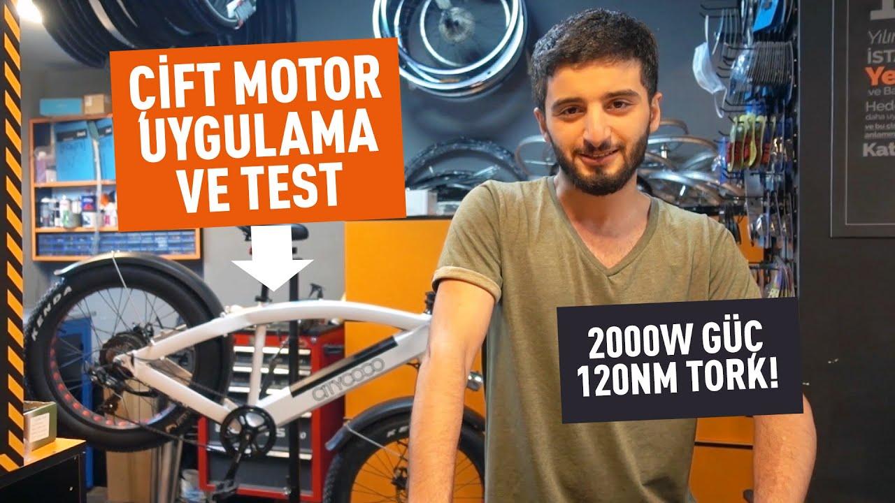 Çift Motor Elektrikli Fatbike Bisiklet Uygulaması ve Testi