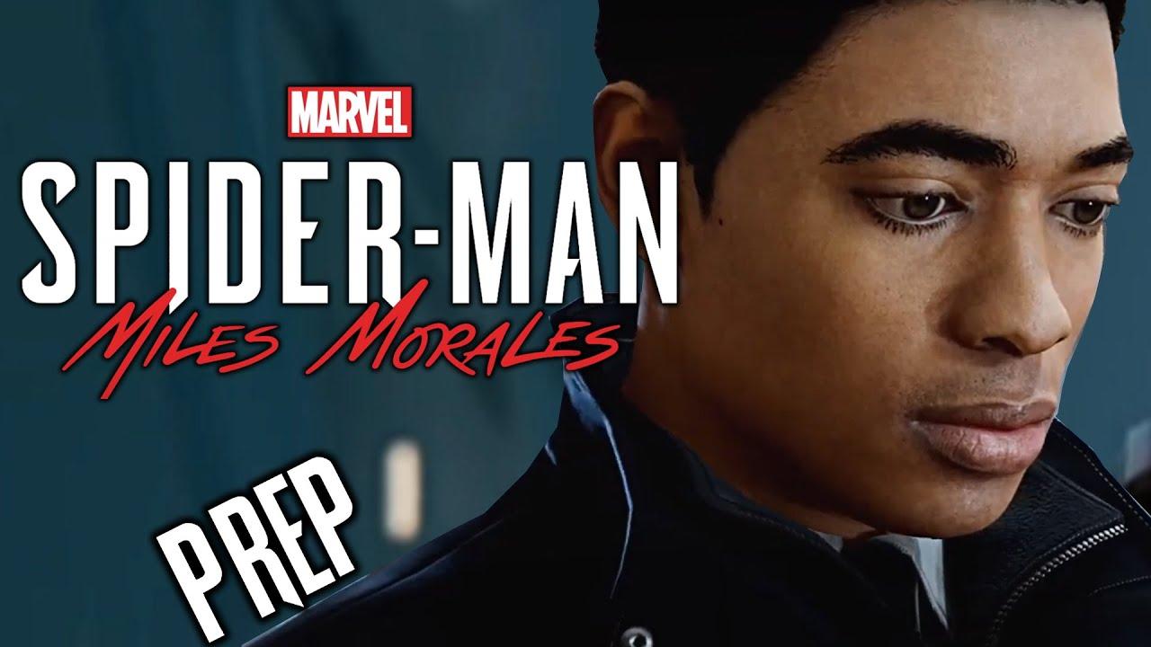 Marvel's Spider-Man: Miles Morales Walkthrough PREPARATION: Spider-Man PS4 (Not Playstation 5)