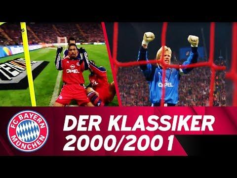 "FCB 6:2 BVB   ""Der Klassiker"" at the Bundesliga Season 2000/2001"