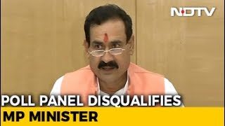 Election Panel Disqualifies Madhya Pradesh Minister For Alleged Corruption