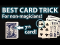 BEST MAGIC CARD TRICK For ANYONE Revealed! (Card At Random Number!)