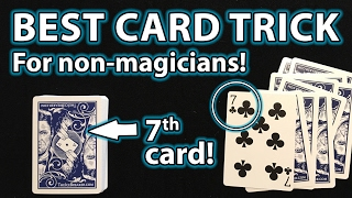 Gambar cover BEST MAGIC CARD TRICK for ANYONE Revealed! (Card at Random Number!)