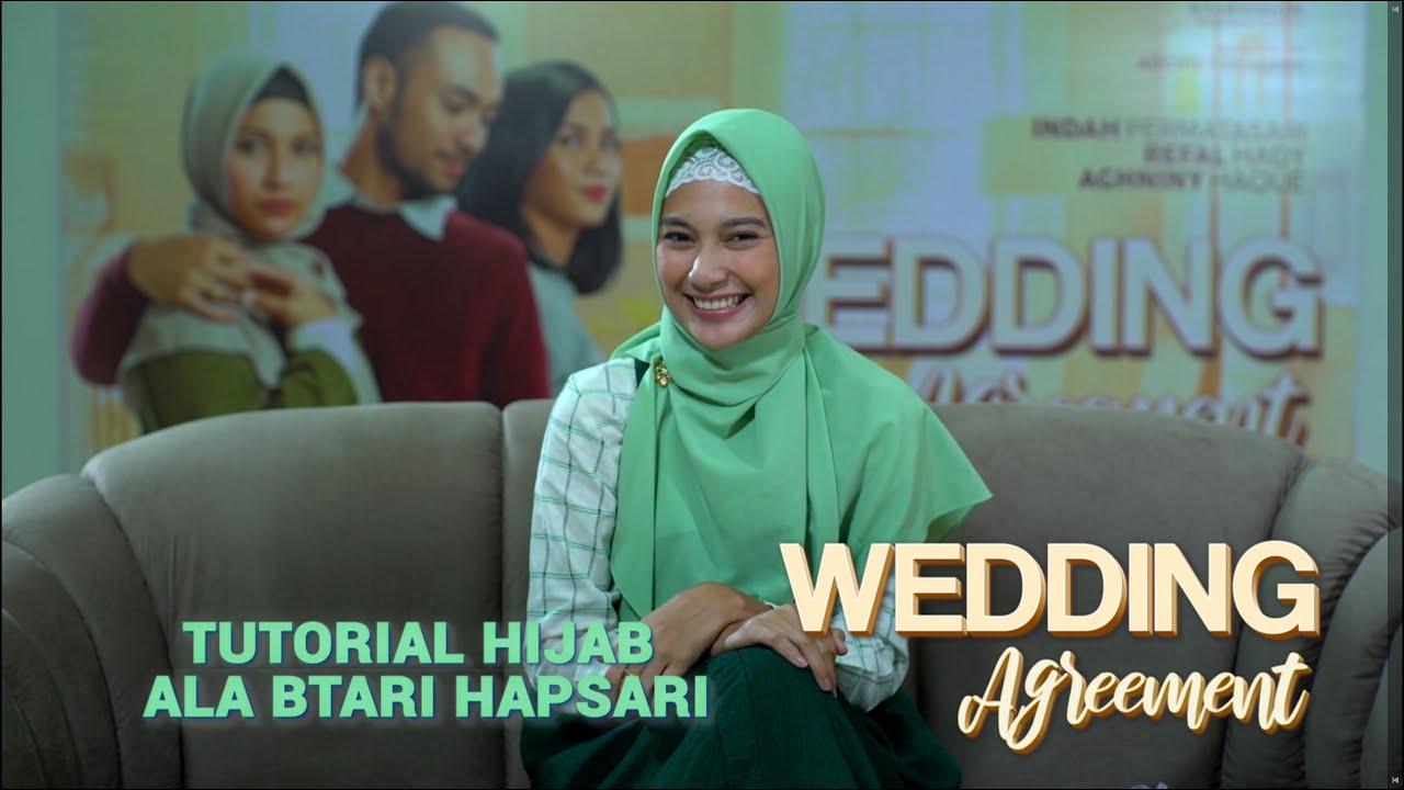WEDDING Agreement - Tutorial Hijab Ala Btari Hapsari - YouTube