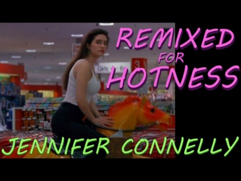 Jennifer Connelly at Age 20 in tight tank top: Career Opportunities - Remixed for Hotness thumbnail