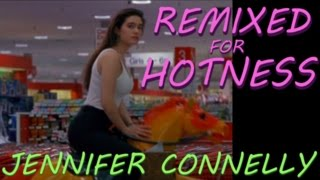 Jennifer Connelly at Age 20 in tight tank top: Career Opportunities - Remixed for Hotness
