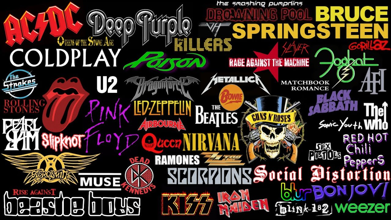 Rock Bands Liste