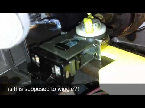 mustang brake light switch - YouTube