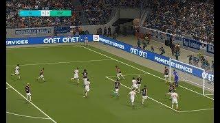 Olympique lyonnais vs ogc nice | ligue 1 | journée 38 | 19 mai 2018 | pes 2018