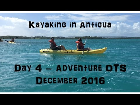 ADVENTURE OF THE SEAS | Day 4 | St.Johns, Antigua | Kayak & Snorkel