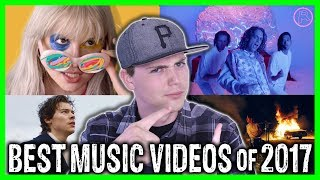 TOP 10 BEST MUSIC VIDEOS OF 2017