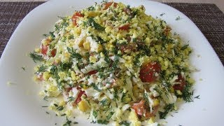 Салат с молодой капустой ✧ Очень просто и вкусно
