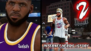 TIME OUT GLITCH! STORY TIME: INTERNET NERDS, RUMORS! Part I NBA 2k20 MyCAREER Ep.2