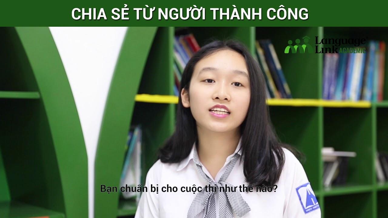 """""""Bí kíp"""" học tiếng Anh từ Quán quân """"Olympic Tiếng Anh THCS 2016-2017"""""""