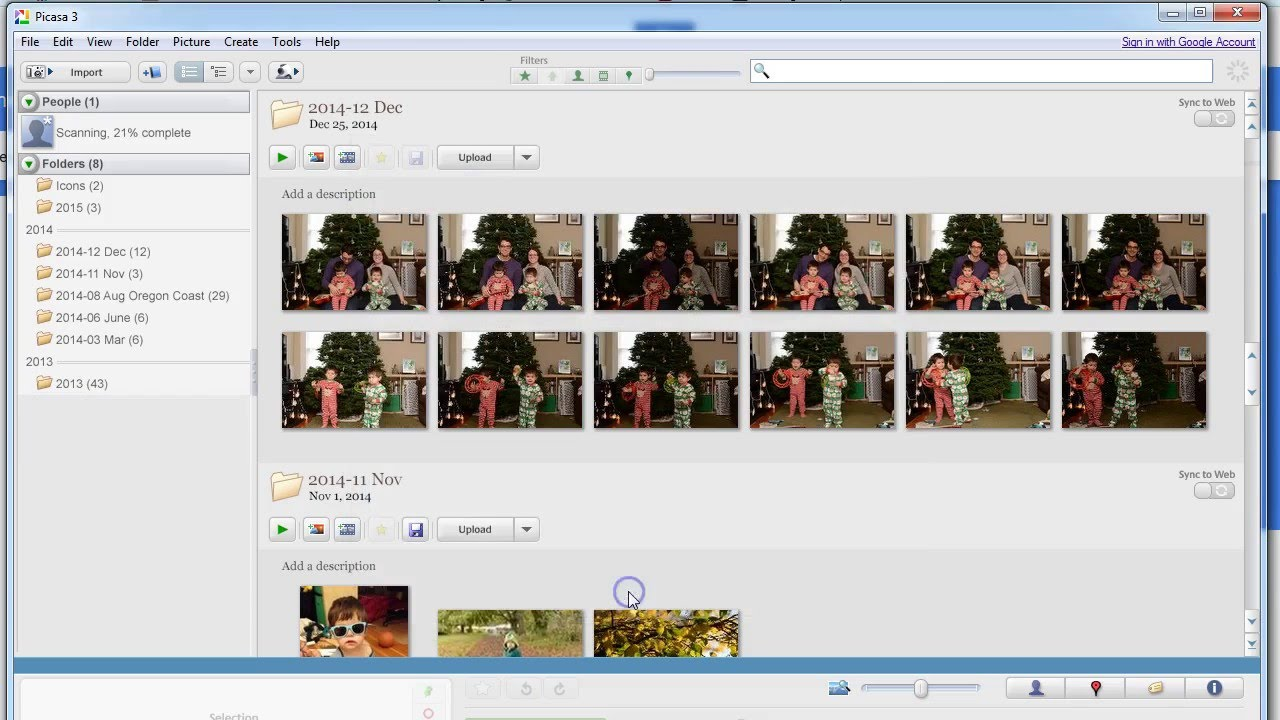 guide to using picasa to manage and organize photos youtube rh youtube com picasa user guide pdf Windows Live Photo Gallery