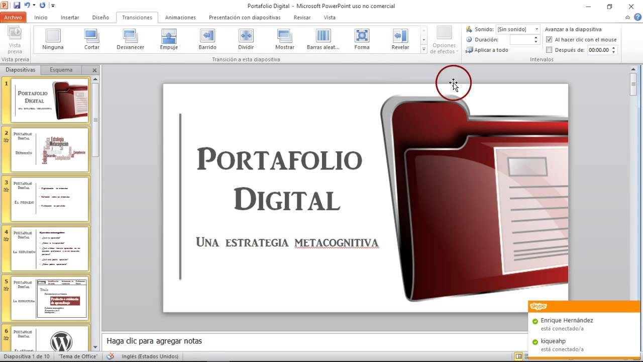 Apoyo configuraci n pecha kucha youtube for Pecha kucha powerpoint template