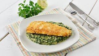 File de pastrav cu spanac | Trout Fillet with spinach (CC Eng Sub) | JamilaCuisine