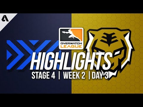 New York Excelsior vs Seoul Dynasty | Overwatch League Highlights OWL Stage 4 Week 2 Day 3