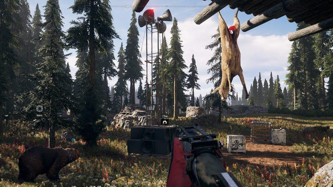 Far Cry 5 All 10 Wolf Beacons Locations Youtube