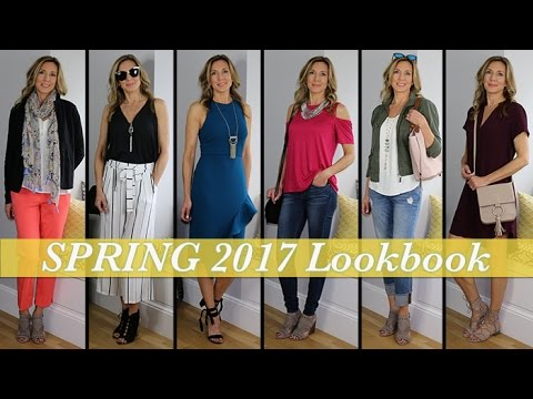 Spring Outfit Ideas! Lookbook Fashion Guide 2017