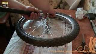 ремонт камеры детского велосипеда