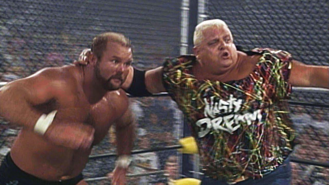 Dusty Rhodes, Dustin Rhodes & Nasty Boys vs The Stud Stable - WarGames  Match: WCW Fall Brawl 1994 - YouTube