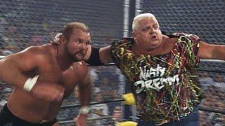 Dusty Rhodes, Dustin Rhodes & Nasty Boys vs The Stud Stable - WarGames Match: WCW Fall Brawl 1994