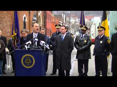 Mayor Ravenstahl Pittsburgh Crack Down on Southside Press Conference