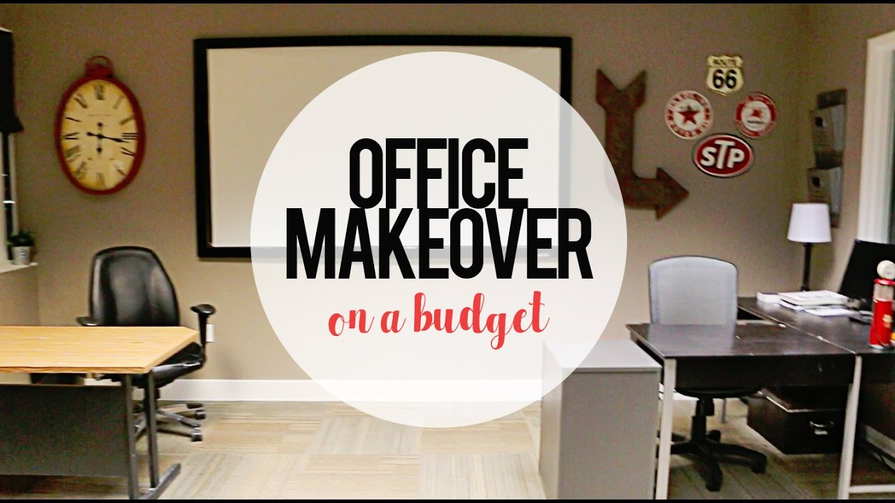 Decorate An Office: DIY
