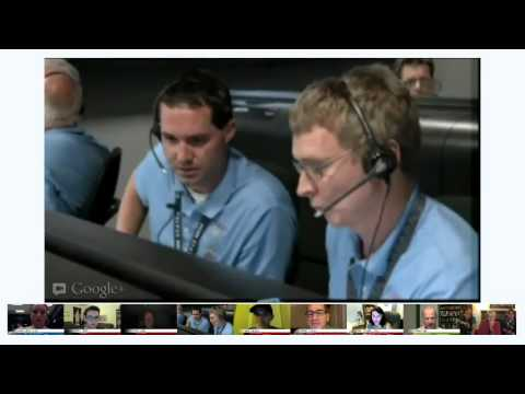 Virtual Landing Party for the Curiosity Rover