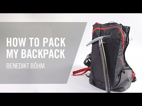 How To Pack Your Ski Touring Backpack | Dynafit