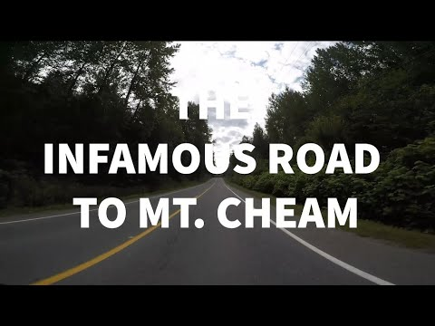 The Infamous SCARY Road To Mt. Cheam, Chilliwack BC, 4x4 Required!