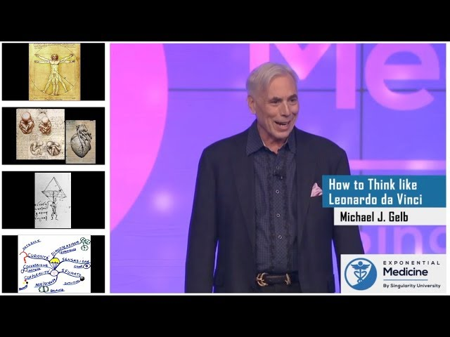 How to Think Like Leonardo da Vinci with Michael Gelb
