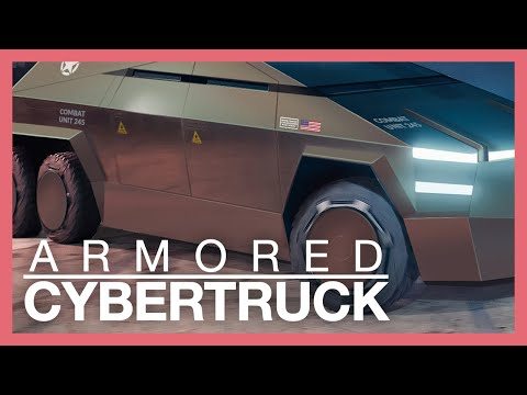 What if Tesla build a tactical ARMORED Cybertruck?