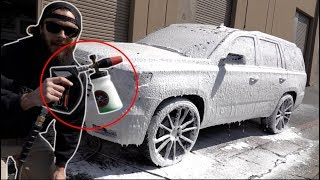 The ULTIMATE foam cannon setup! (YOU NEED THIS!)