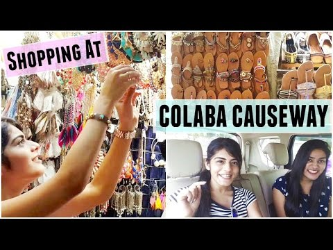 Vlog: Shopping At Colaba Causeway
