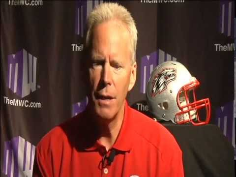2012 MW Football Preview Show with New Mexico Head Coach Bob Davie