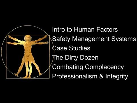 Aviation Maintenance Human Factors - A Sampler