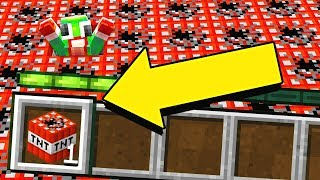Using ONE block in Minecraft to BEAT UnspeakableGaming