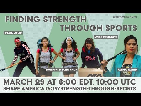 Finding Strength Through Sports