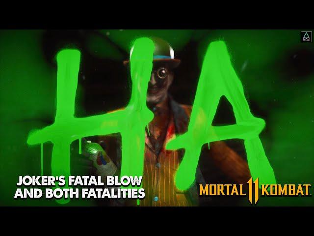 Mortal Kombat 11: Joker's Fatal Blow + Fatalities 1 & 2