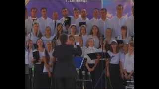 Евангелизационный молодежный хор ОЦХВЕ г Винница Иисус о Тебе я пою