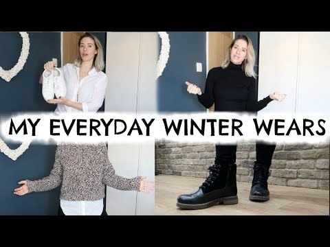 WHAT I WEAR IN WINTER FROM MY CAPSULE WARDROBE | SIMPLE WINTER OUTFIT IDEAS | KERRY WHELPDALE 2