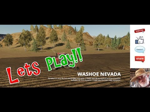 JD EP 205 Old Iron Lets Play On The Washoe Nevada Map. Crop Circles, Aliens And Gold Mines!