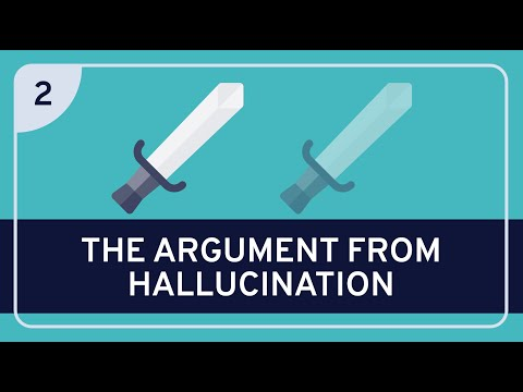 PHILOSOPHY - Epistemology: Paradoxes of Perception #2 (Argument from Hallucination) [HD]