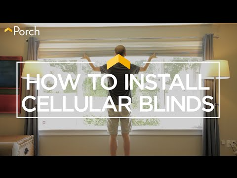 How to Hang Cellular Blinds