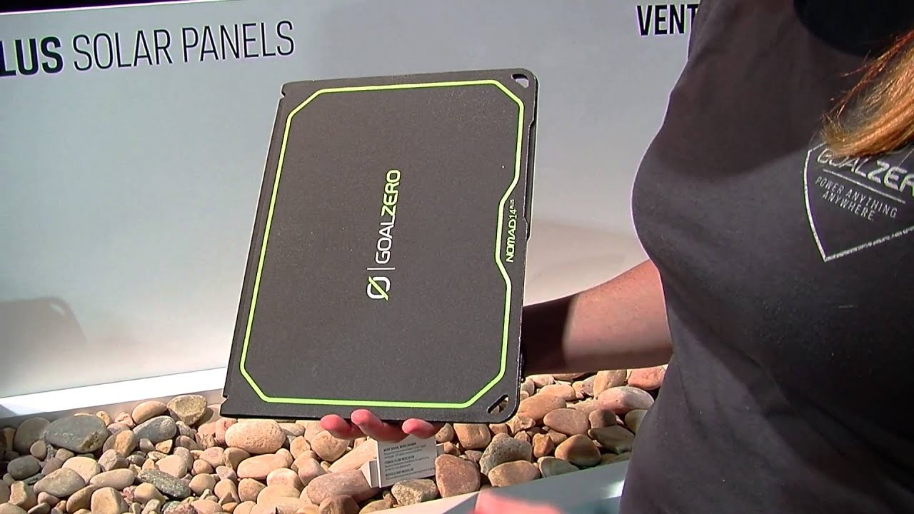 Goal Zero Nomad 7 Plus and Nomad 14 Plus Solar Panels - YouTube