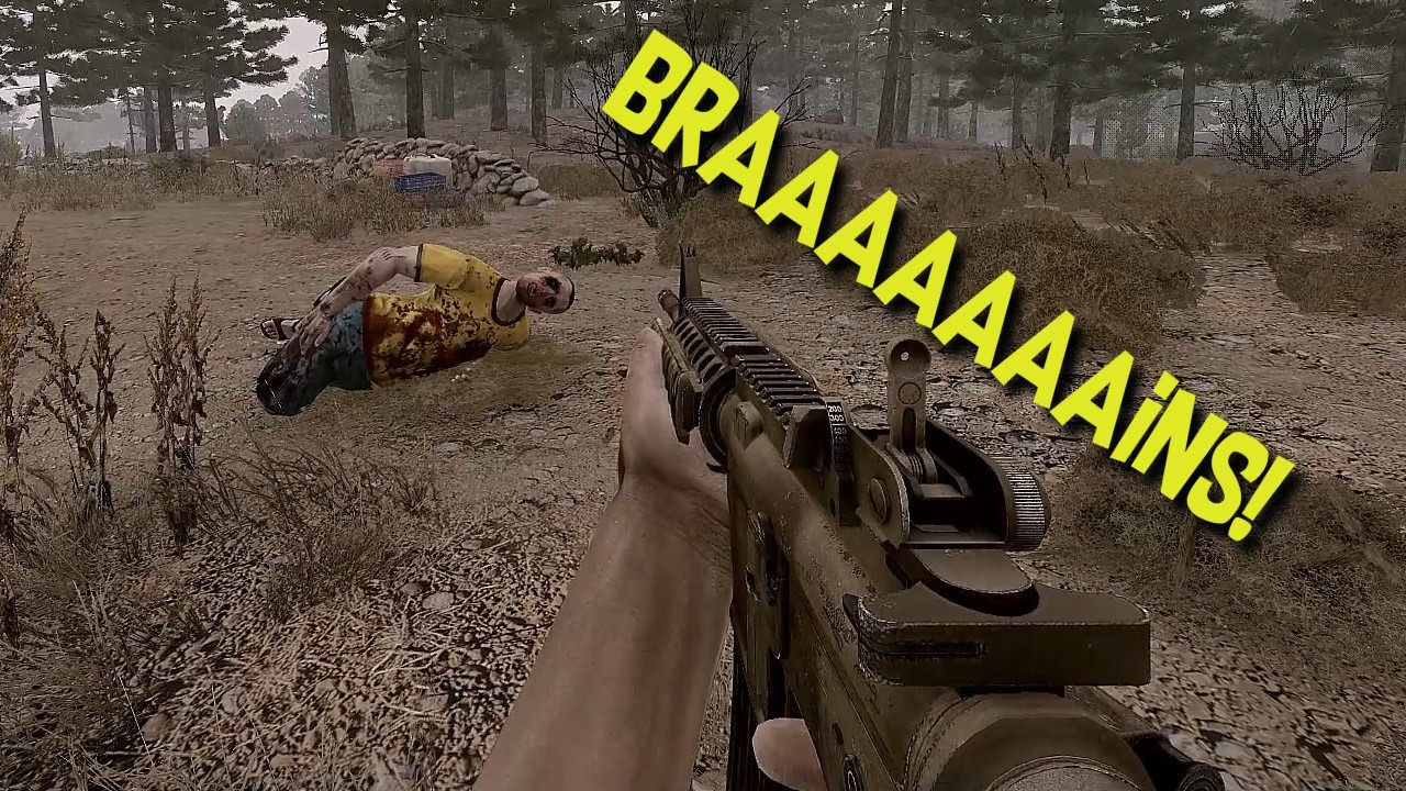 BRAAAAAINS ArmA 3 Ravage Mod YouTube
