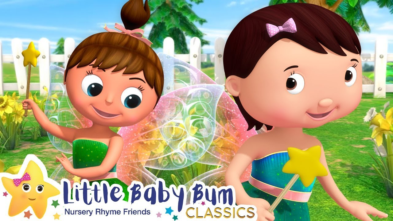 Fairies in The Garden Song | +More Nursery Rhymes & Kids Songs - ABCs and 123s | Little Baby Bum